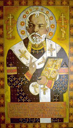 Lenin som St. Nikolai