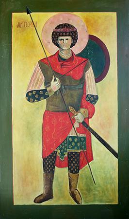 Pavlik Morosov som St. George