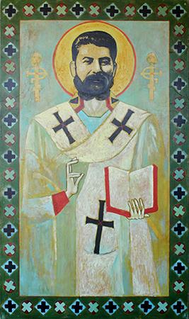 Stalin som St. Nikolai